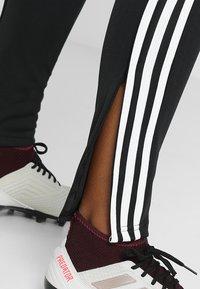 adidas Performance - TIRO AEROREADY CLIMACOOL FOOTBALL PANTS - Spodnie treningowe - black/white - 4
