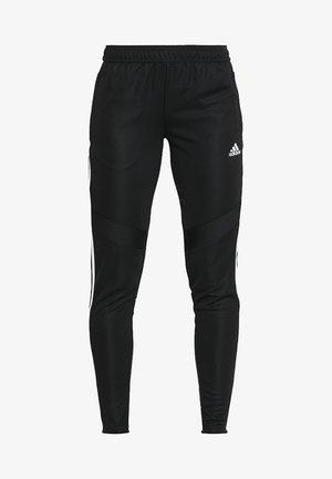 TIRO 19 - Pantalones deportivos - black/white