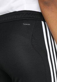 adidas Performance - TIRO AEROREADY CLIMACOOL FOOTBALL PANTS - Spodnie treningowe - black/white - 6