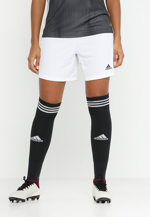 KN SHO W - kurze Sporthose - white