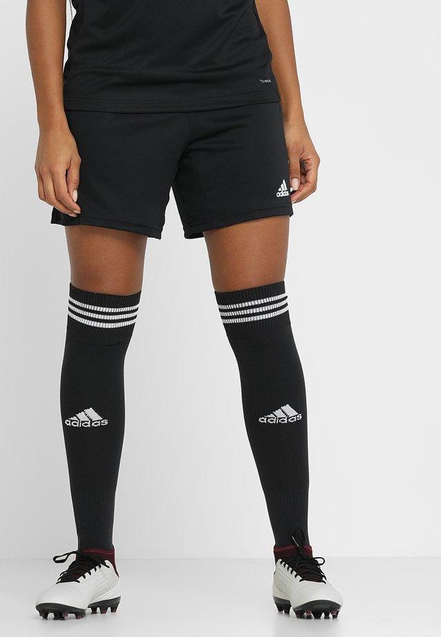 KN SHO W - Sports shorts - black/white