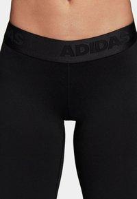 adidas Performance - DAMEN - Collant - black - 4