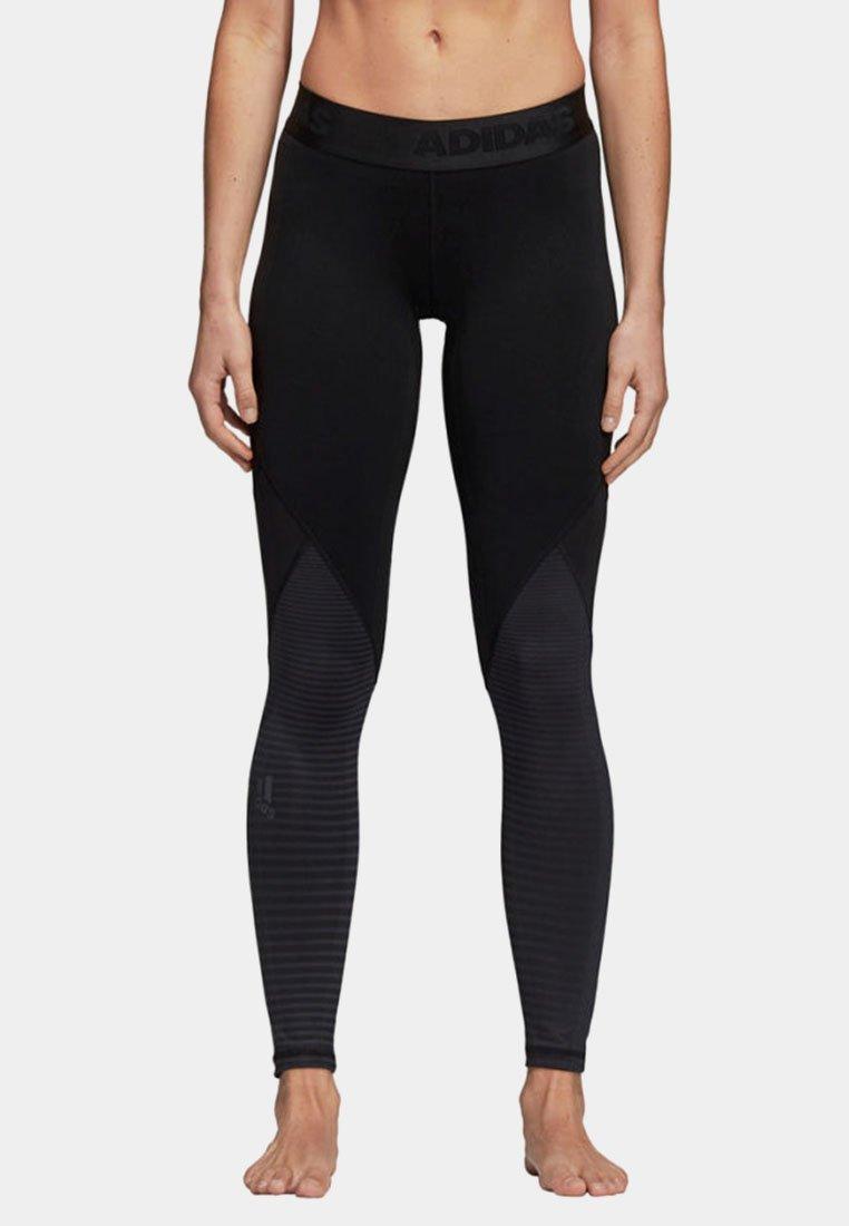 adidas Performance - DAMEN - Collant - black
