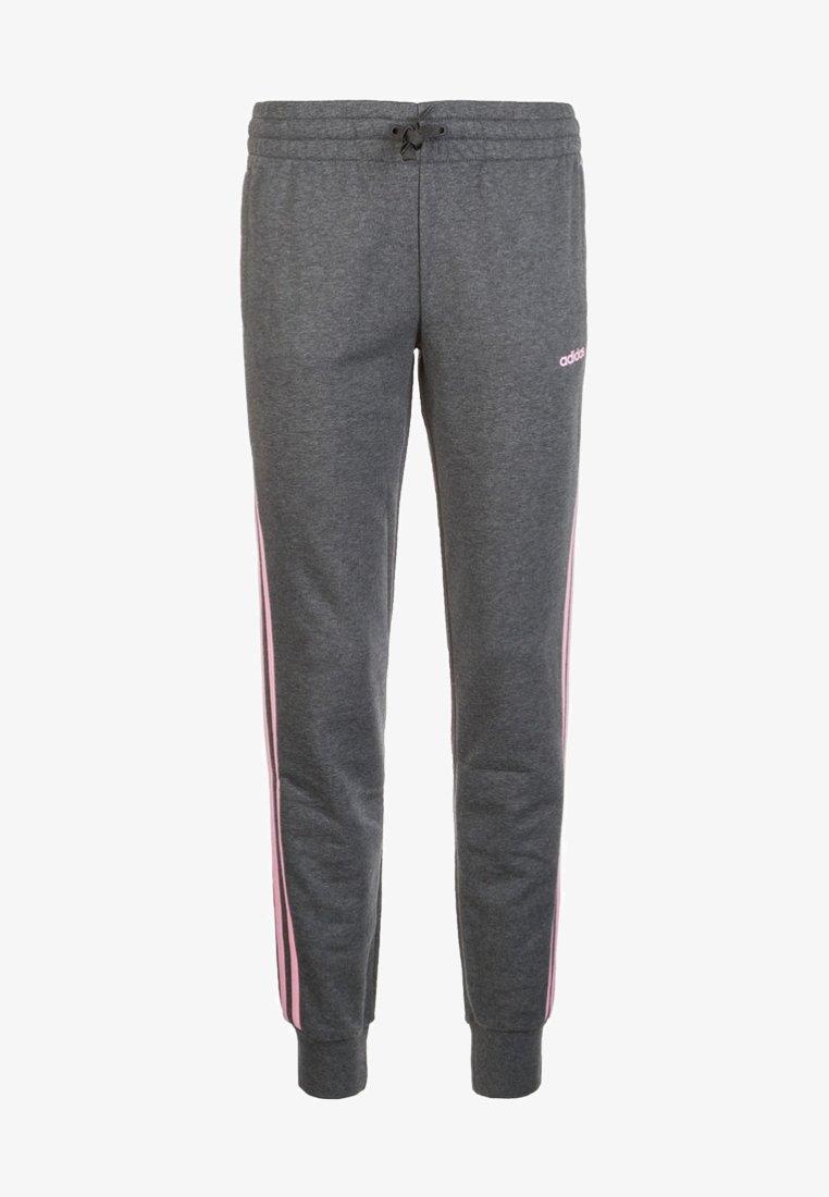 adidas Performance - PANT - Jogginghose - dark grey heather / true pink