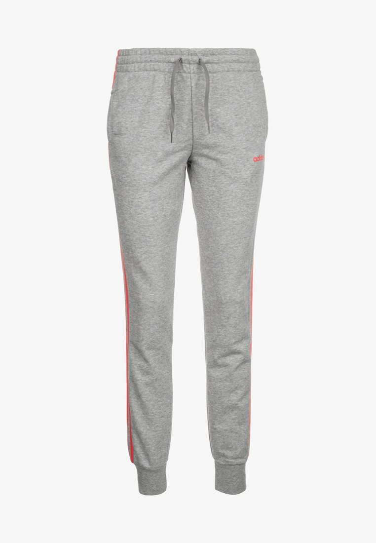 adidas Performance - PANT - Jogginghose - medium grey heather/prism pink