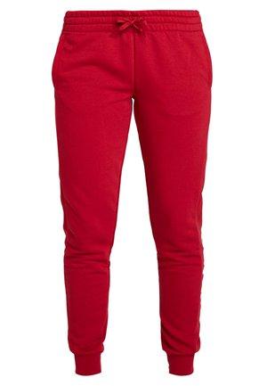 LIN PANT - Pantalones deportivos - dark red