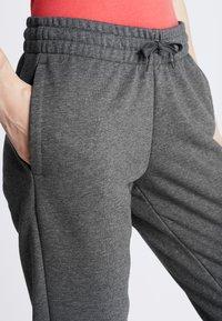 adidas Performance - LIN PANT - Pantaloni sportivi - dark grey/purple - 3