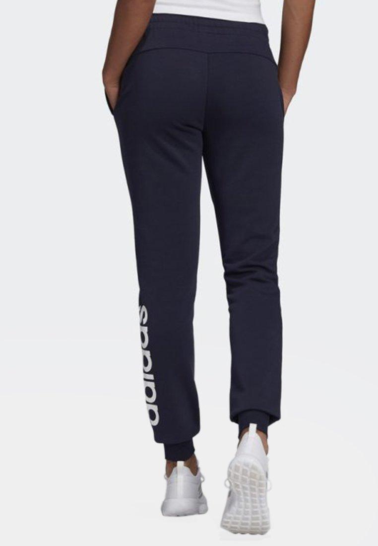 adidas Performance LIN PANT - Spodnie treningowe - legend ink/white