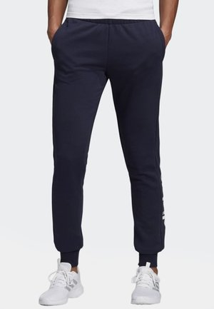 ESSENTIALS LINEAR SPORT PANTS - Jogginghose - legend ink/white