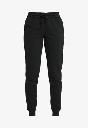 LIN PANT - Tracksuit bottoms - black/white