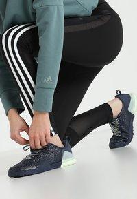 adidas Performance - Tights - black/white - 3