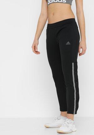 SNAP PANT 7/8 - Tracksuit bottoms - black/white