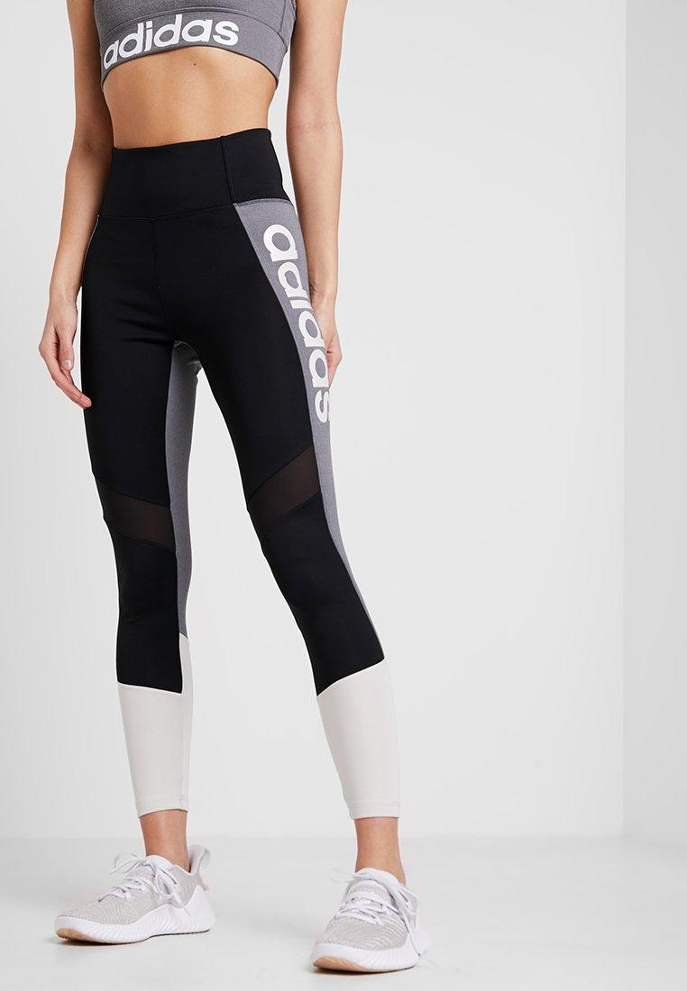 adidas Performance - Tights - black/raw white