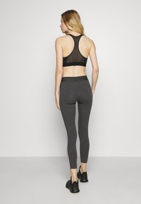 adidas Performance - Leggings - dark grey heather - 2