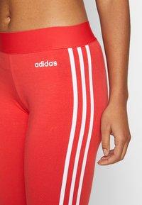 adidas Performance - Legging - glored/white - 5