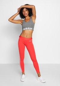 adidas Performance - Legging - glored/white - 1