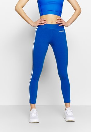 Tights - blue/white