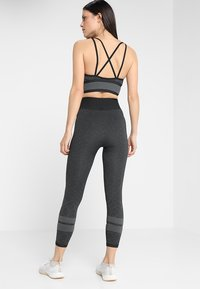 adidas Performance - Leggings - black/gresix - 2
