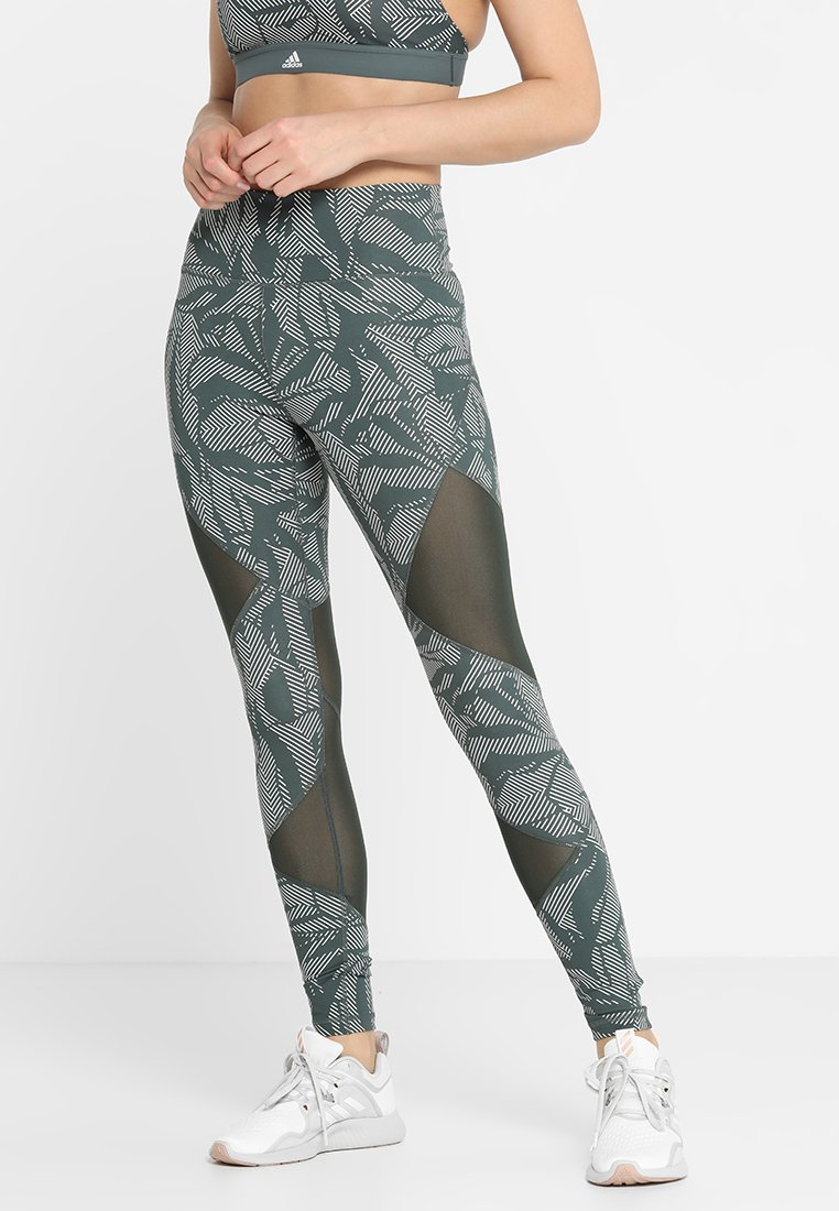 adidas Performance - Tights - legend ivy