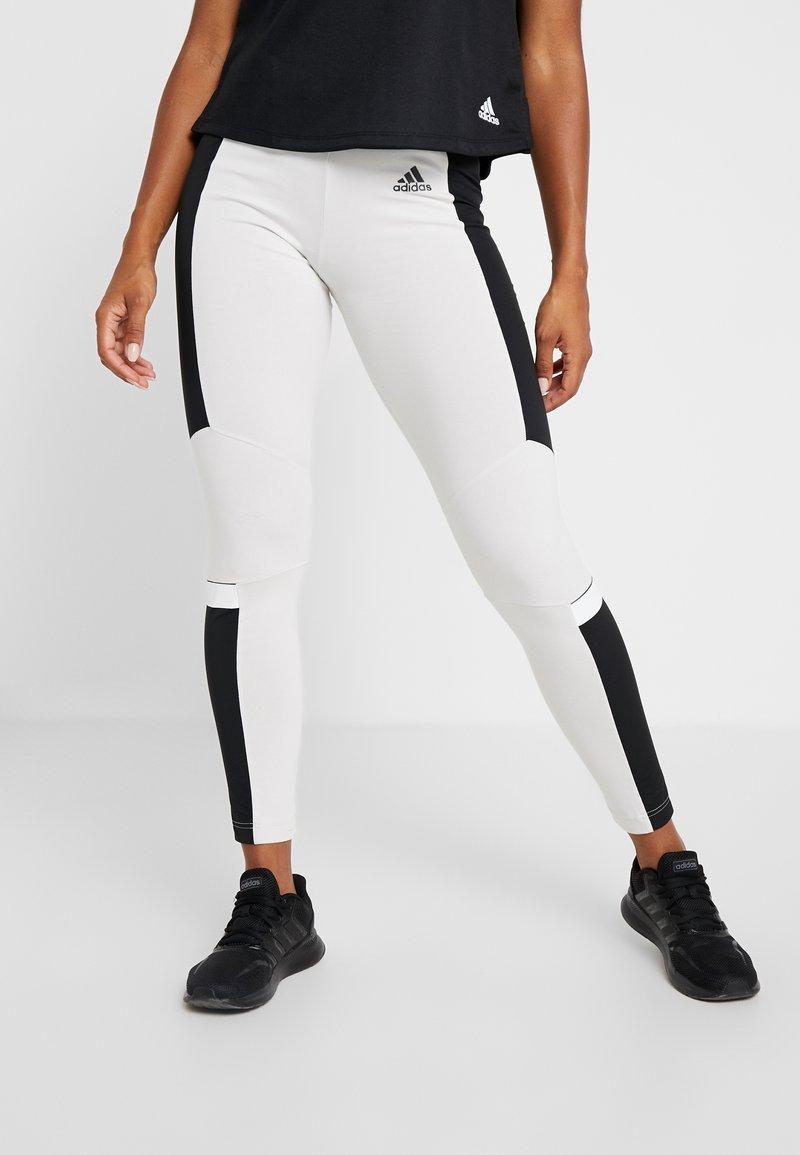 adidas Performance - ID - Tights - raw white/black
