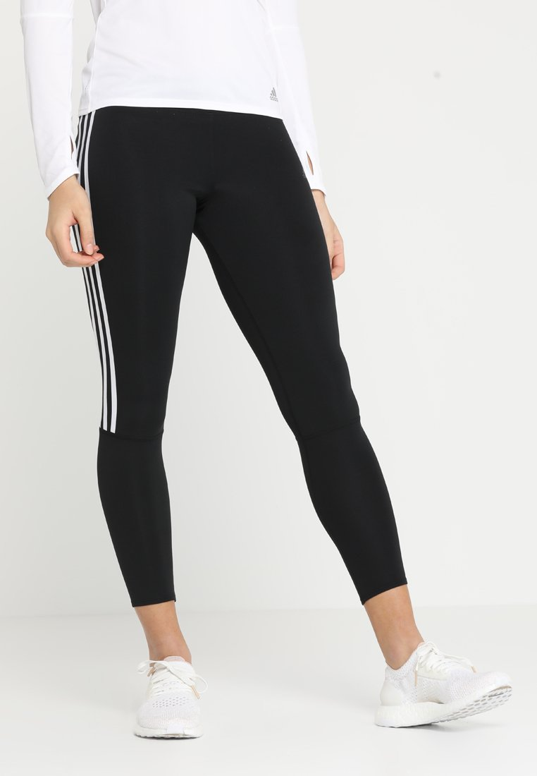 adidas Performance - RUN  - Leggings - black/white