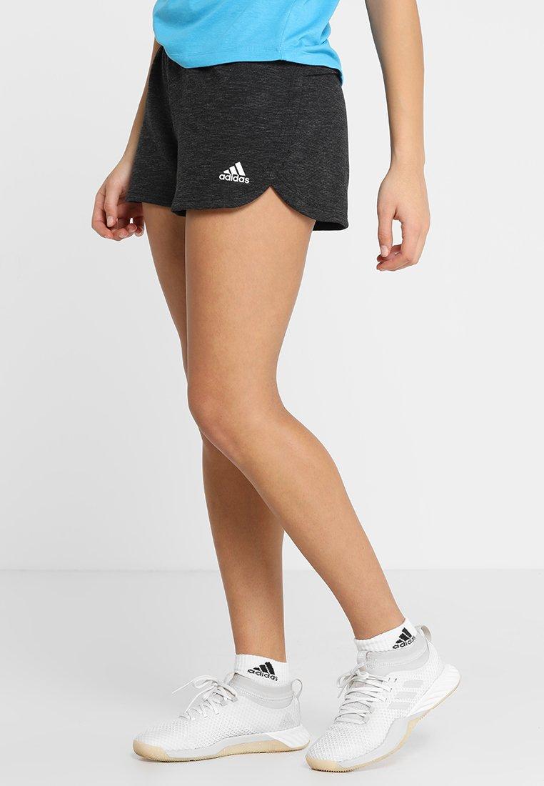 adidas Performance - STADIUM  - kurze Sporthose - black melange