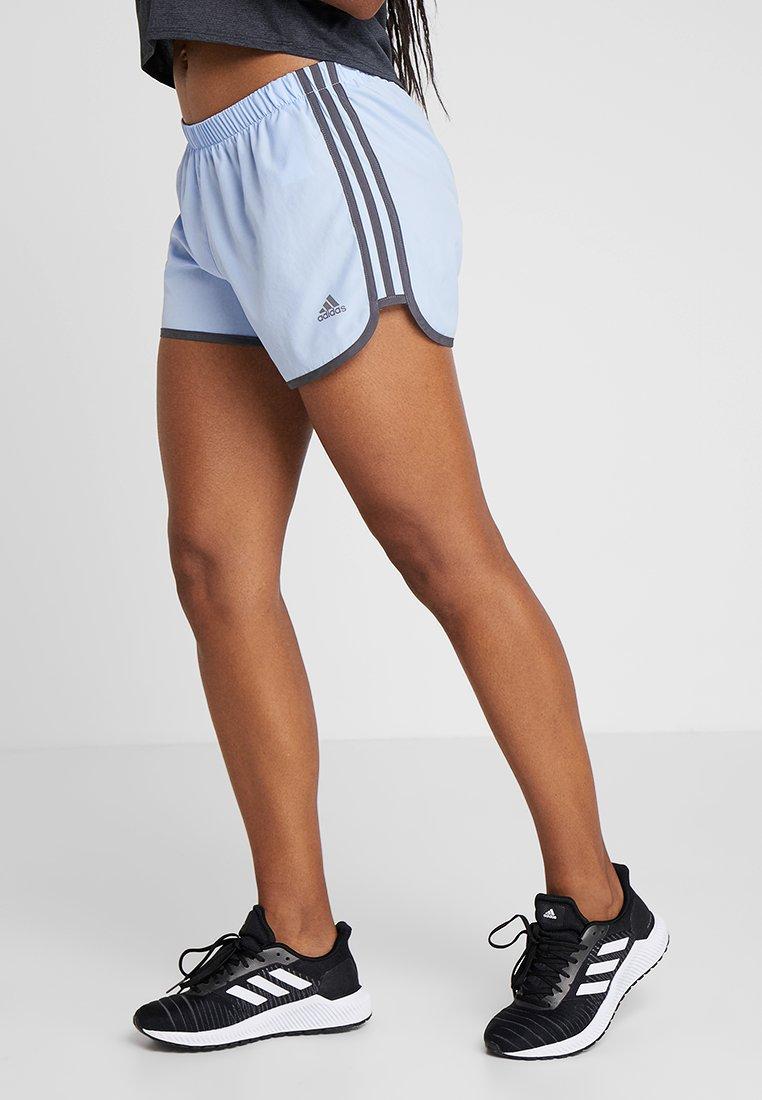 adidas Performance - SHORT - Pantalón corto de deporte - blue/grey five