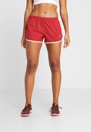 SHORT - Pantalón corto de deporte - active maroon/glow pink
