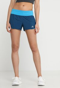 adidas Performance - RUN IT SHORT - Korte broeken - dark blue - 0