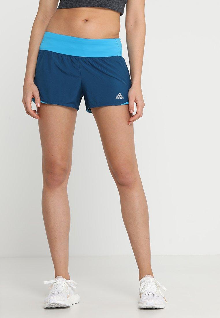 adidas Performance - RUN IT SHORT - kurze Sporthose - dark blue