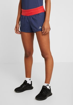 RUN IT SHORT - kurze Sporthose - tecind/glored
