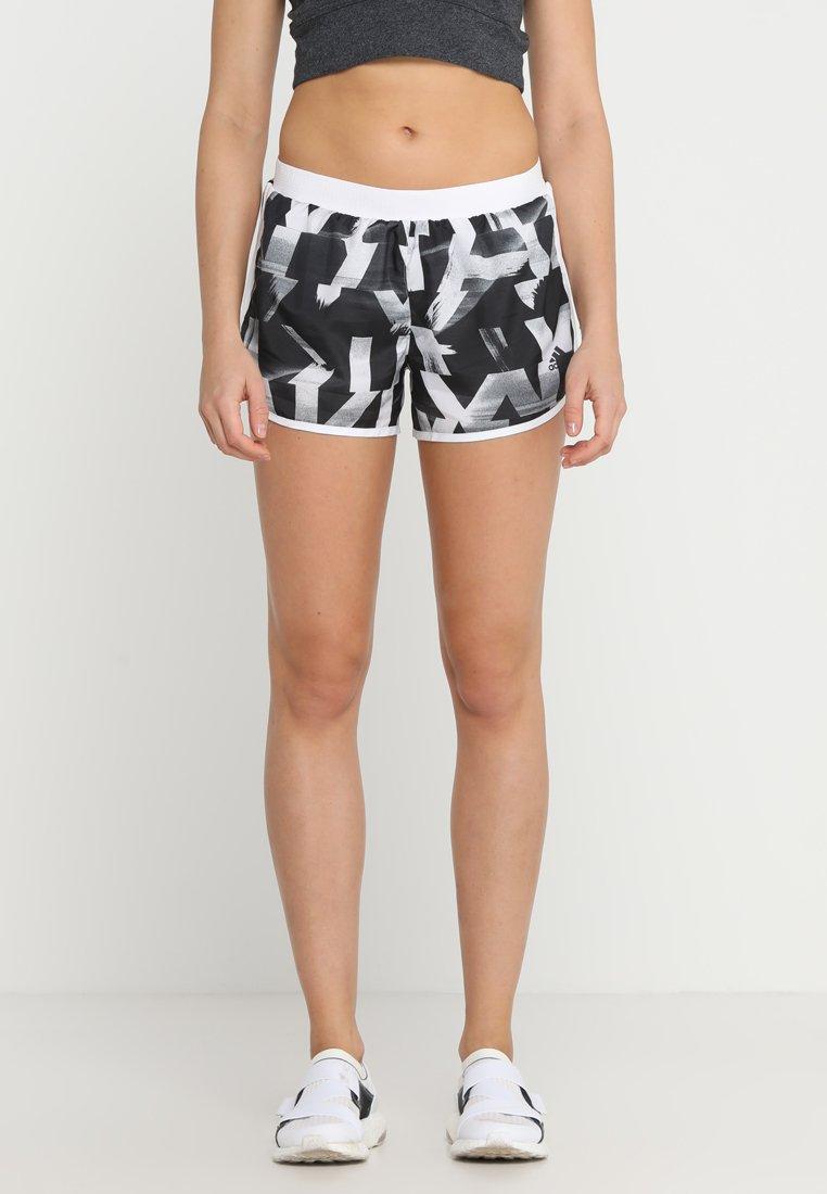 adidas Performance - SHORT - Sports shorts - white/black