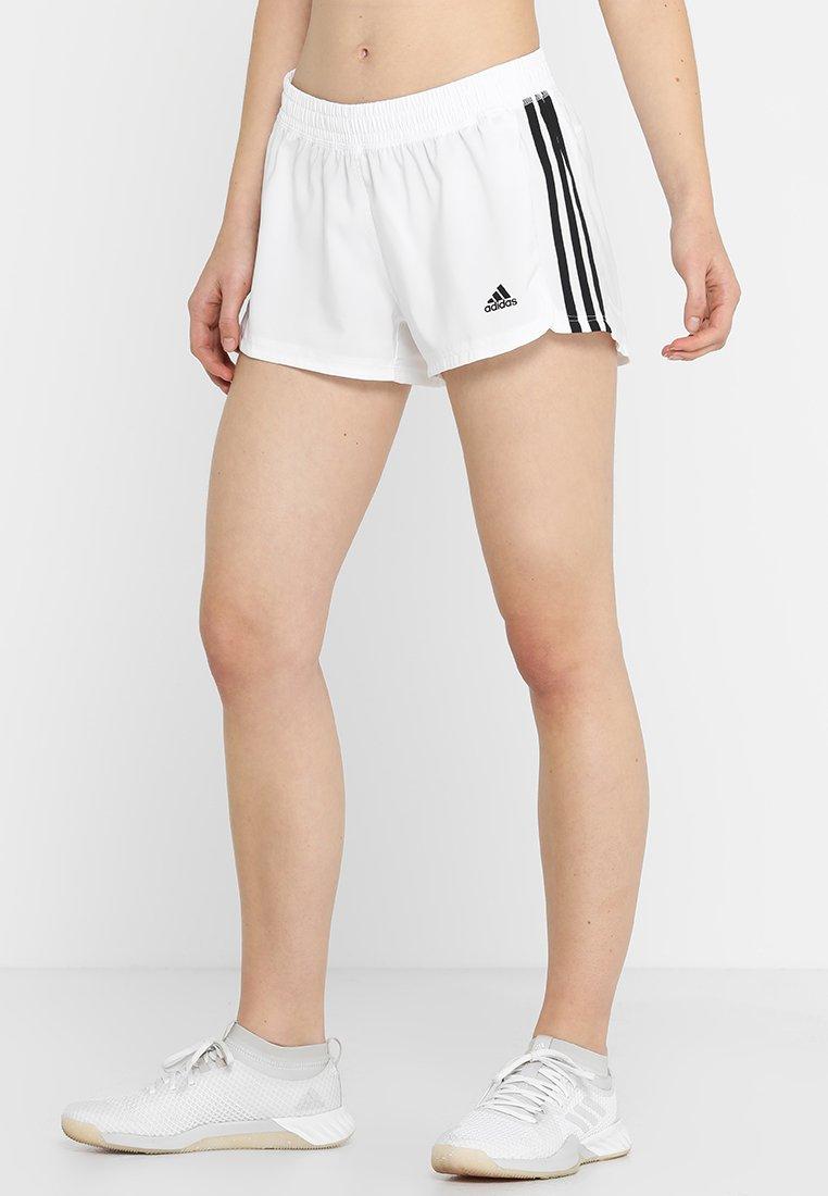 adidas Performance - 3S SHORT - Sports shorts - white/black