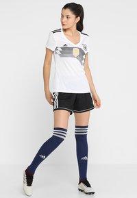adidas Performance - SQUADRA SHORT DAMEN - Träningsshorts - black/white - 1