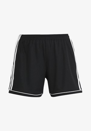 SQUADRA CLIMALITE FOOTBALL 1/4 SHORTS - Sports shorts - black/white