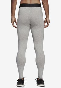 adidas Performance - MUST HAVES BADGE OF SPORT LEGGINGS - Tights - grey - 1