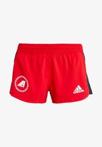 adidas Performance - SPORT CLIMALITE WORKOUT GRAPHIC SHORTS - Pantalón corto de deporte - scarlet - 3