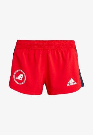 SPORT CLIMALITE WORKOUT GRAPHIC SHORTS - Pantalón corto de deporte - scarlet