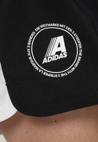 adidas Performance - SPORT CLIMALITE WORKOUT GRAPHIC SHORTS - Urheilushortsit - black - 4