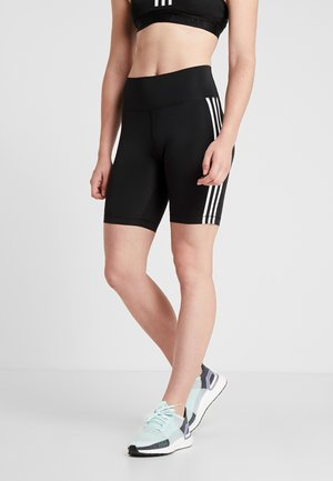 SPORT CLIMALITE BIKE SHORTS LEGGINGS - Punčochy - black/white
