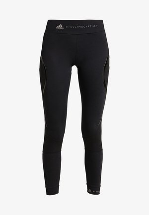 ESSENTIALS SPORT WORKOUT LEGGINGS - Legginsy - black