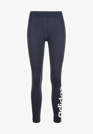 ESSENTIALS LINEAR LEGGINGS - Leggings - dark blue