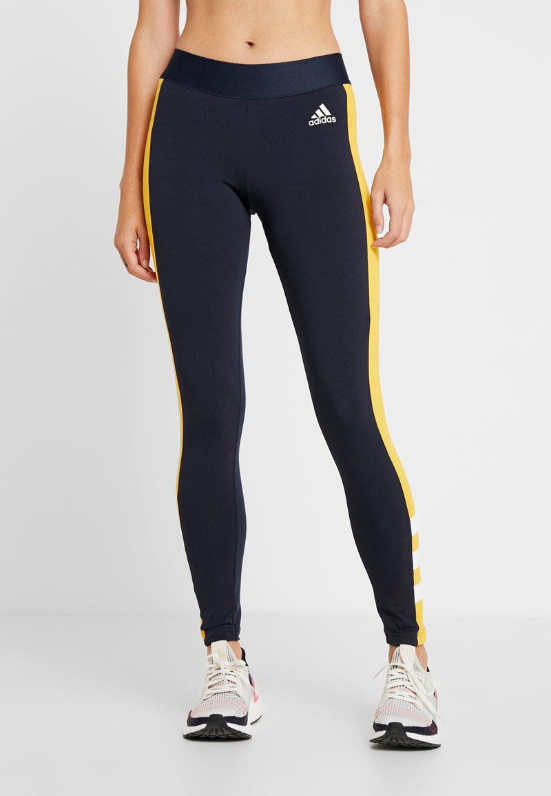adidas Performance - SID - Collants - legend ink/active gold