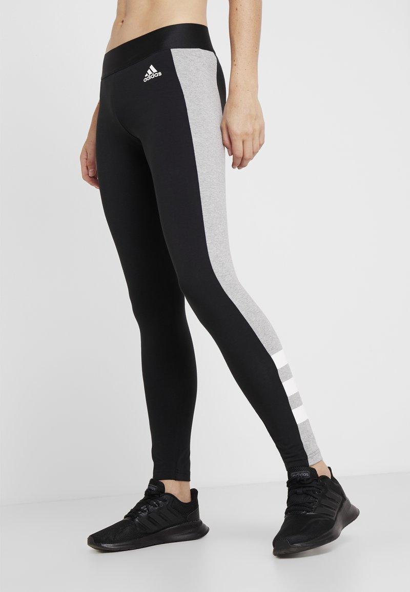 adidas Performance - SID - Collant - black/medium grey heather