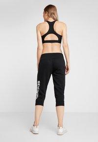 adidas Performance - Pantaloncini 3/4 - black/white - 2