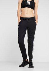 adidas Performance - D2M S F K  3S L - Pantaloni sportivi - black - 0