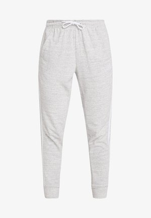 PANT - Teplákové kalhoty - medium greyheather/off white/white