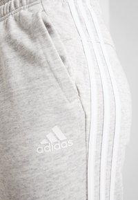 adidas Performance - PANT - Tracksuit bottoms - medium greyheather/off white/white - 6