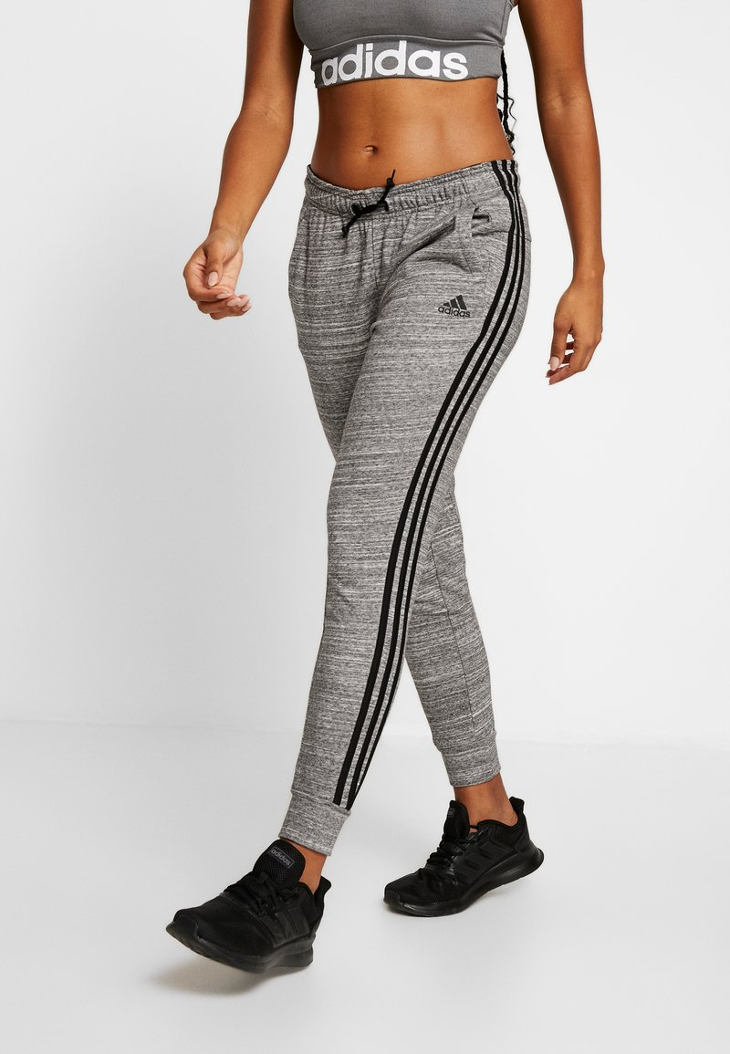 adidas Performance - PANT - Tracksuit bottoms - black/off white