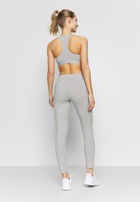 adidas Performance - LIN - Tights - grey heather/pink - 2